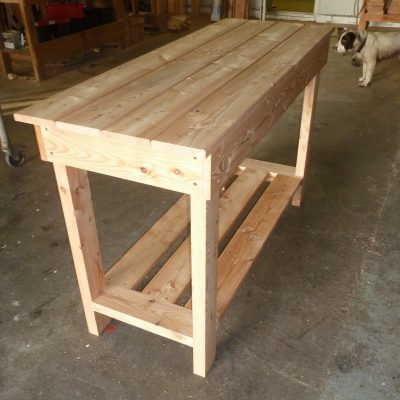 21mm solid Larch Board table