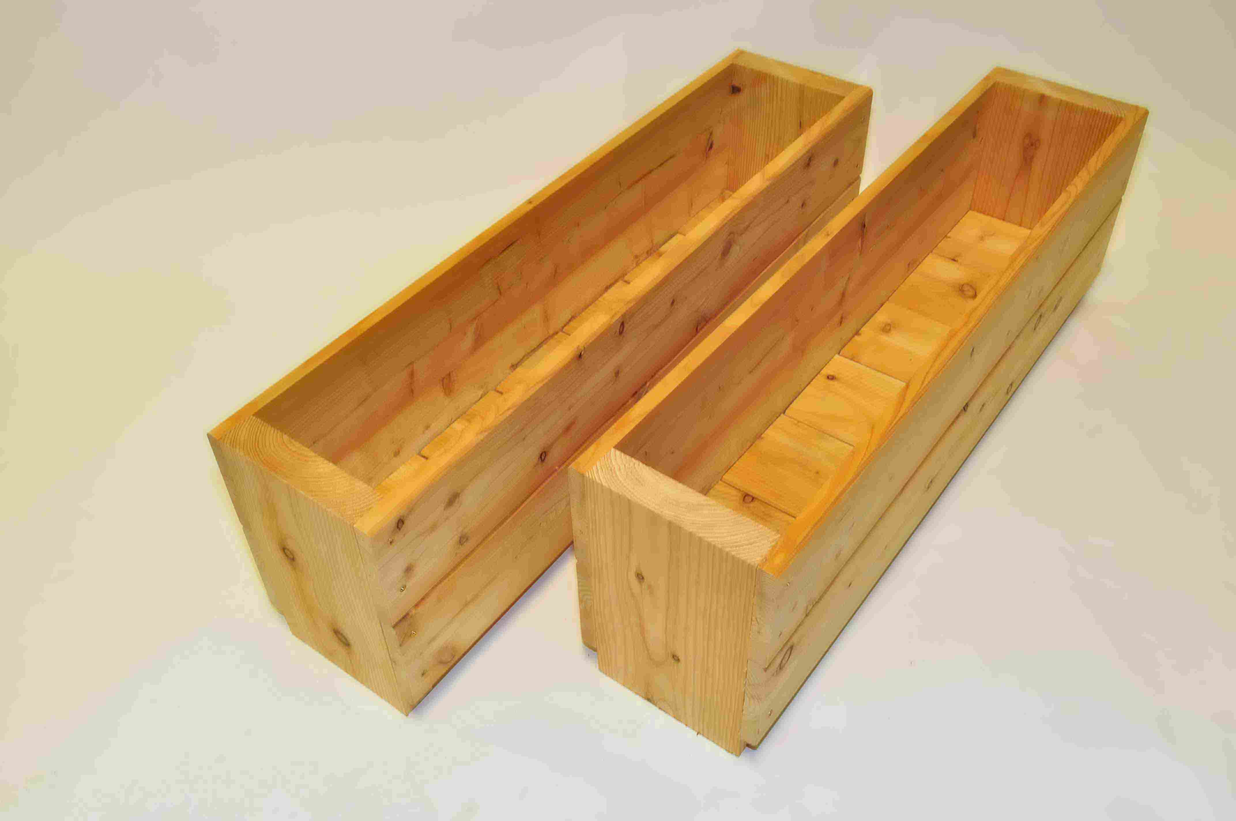 of clay box planter garden wall ball media grow planters boxes pack on with