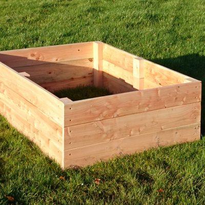 3 board planter